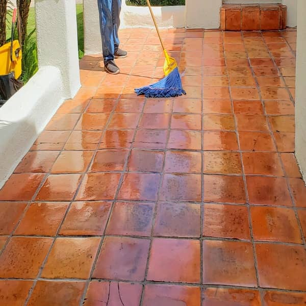 spanish tile cleaning and restoration