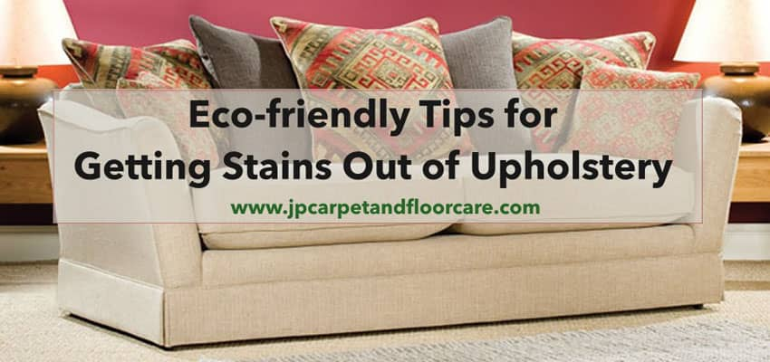 stain removal from upholstery