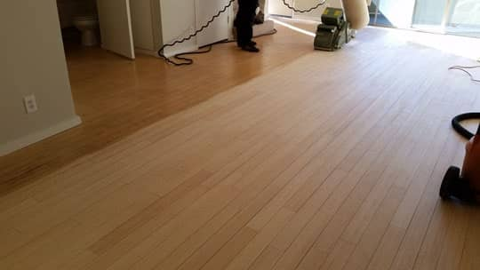 Wood-floor-light-scrubbing-culver-city